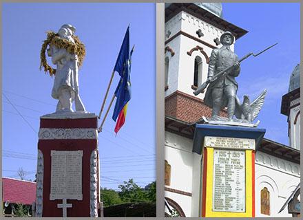 Monumentul eroului comuna pietrari